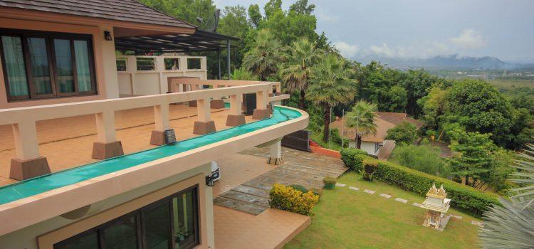 Ko Kaeo 5+rai  Land with Large 4br House,  Thai Villa, Servant House, and Room to Build